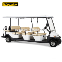 Sightseeing cart 11 seaters 48V electric fuel type