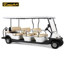 Carrinho de golfe elétrico de 8 assentos preços com capa de chuva