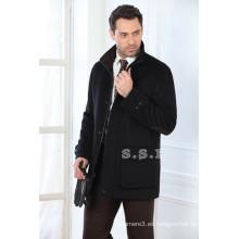 fábrica personalizar estilos clásicos mens abrigos de invierno de cachemira