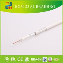 75ohm PVC HF Koaxialkabel Rg59