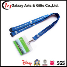 Silk Creen Printed Lanyards ID Badge Holder