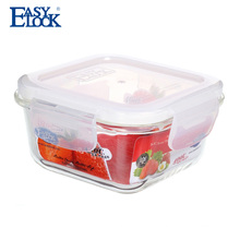 easy lock factory heat resistant glass jar