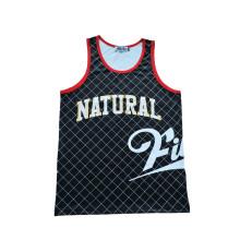 Ropa de deportes de secado rápido Jersey de entrenamiento de jersey de baloncesto con logotipo impreso (TT5011)