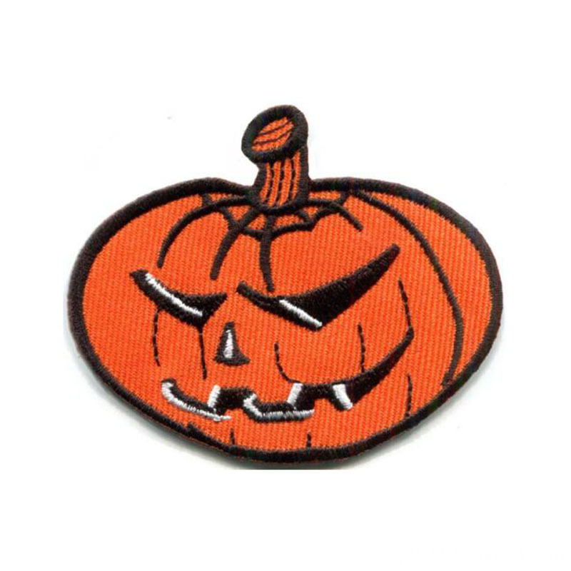 Pumpkin Halloween Applique Patch