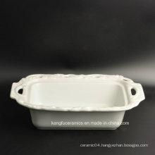 Modern Style Hotel Use Ceramic Dinner Plate