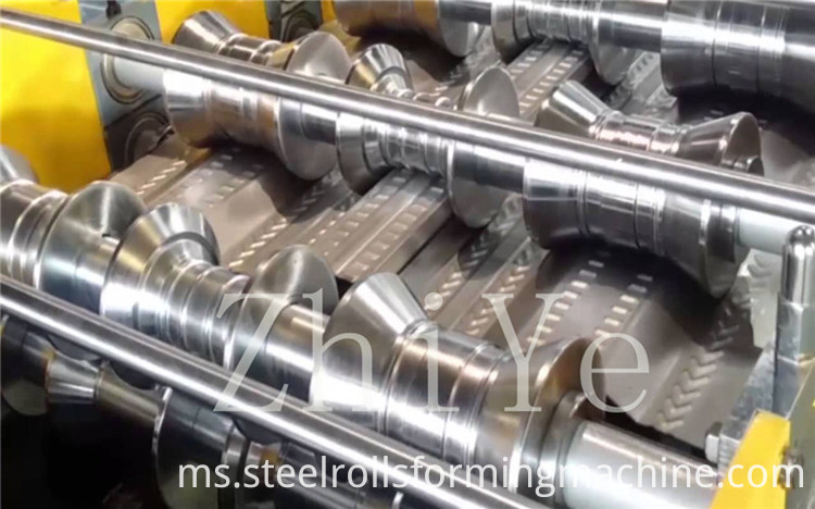 Steel Deck Making Machine