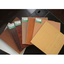 Polyester Overlaid Plywood Solid Color&Wood Grain
