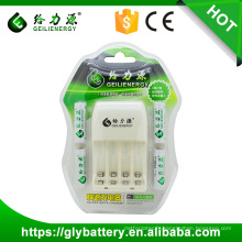 Geilienergy NI-CD Ni-NM AA AAA 2.4V LED Chargeur de batterie
