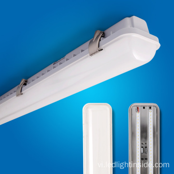 Milky / Clear Cover LED 4ft 20W 40W LED Tri-bằng chứng chiếu sáng