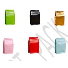 Pochettes en plastique pour grains de café