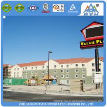 Trousse de maisons préfabriquées de luxe de grande qualité et de grande qualité