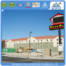Widely used high quality luxury house prefabricated kits villa