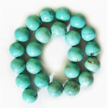 18MM Turquoise Round Beads