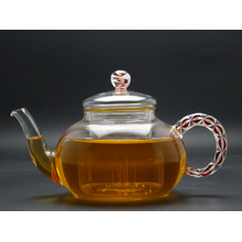 800ml Hand Made High Rate Borosilicate Glass Teapot with Glass Infuser