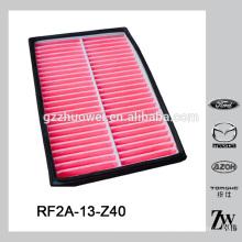 Benutzt für mazda 626 Teil Luftfilter für Mazda626 / MPV Soem: RF2A-13-Z40