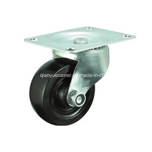 Black Rubber Swivel Caster Wheels für Möbel