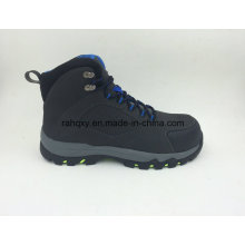 Rubber Sole Slip-Resisting Safety Shoes with Toe Protection (16054)