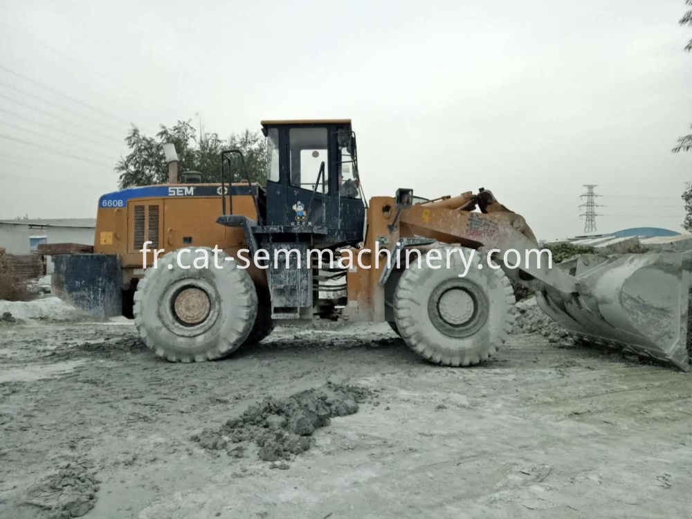 Sem660b Wheel Loader