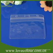 Benutzerdefinierte PVC-Tasche für Ausstellung Kunststoff Kreditkarten-Inhaber