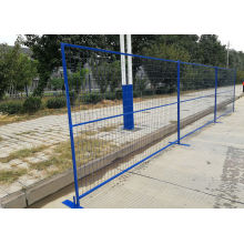 road control weld iron wire temporary fencing removable