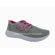 Chaussures de sport d'injection de PVC de confort pour des enfants (DA02-B)