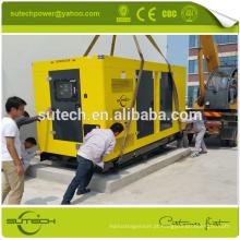 Venda quente silencioso gerador diesel 250kw alimentado por CUMMINS motor NTA855-G1B