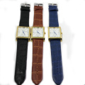 Arrival Leather Men Watches Stainless Steel Back