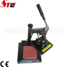 Petites machines d'impression de transfert de chaleur d'étiquette de manuel de 15X15cm (STC-TB01)