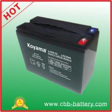 Bateria elétrica da bicicleta do mercado de Bengal 35ah 12V