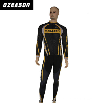 Custom Sublimation Team Short Sleeve Cycling Wear with Cool Fabric