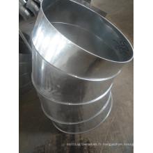Pièce de traitement de courbure métallique Raccord coudé en acier