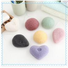 Мягкая влажная / сухая губка для ванны Konjac / Детские банные губки / Средства для чистки лица