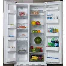Hecho en China Hogar Doble puerta ahorro de energía refrigerador