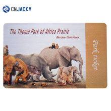 Cartão de papel RFID ECO-friendly / cartão de papel de incrustação de dia