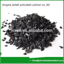 Carvão ativado de nozes para tratamento de água