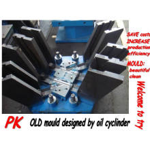 Molde de plástico PVC moldeable plegable / moldeado