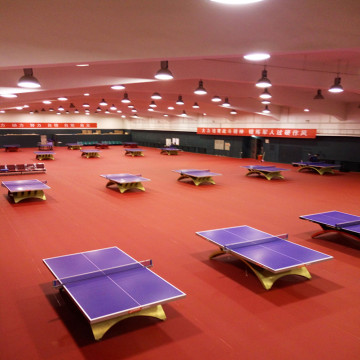 Terrain de tennis de table intérieur en PVC Sports Flooring