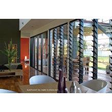 Residential Grade Clear Tempered Glass Louver Fenster bietet besten Preis