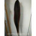 Brown Color 70-75cm Horse Tail Extensions