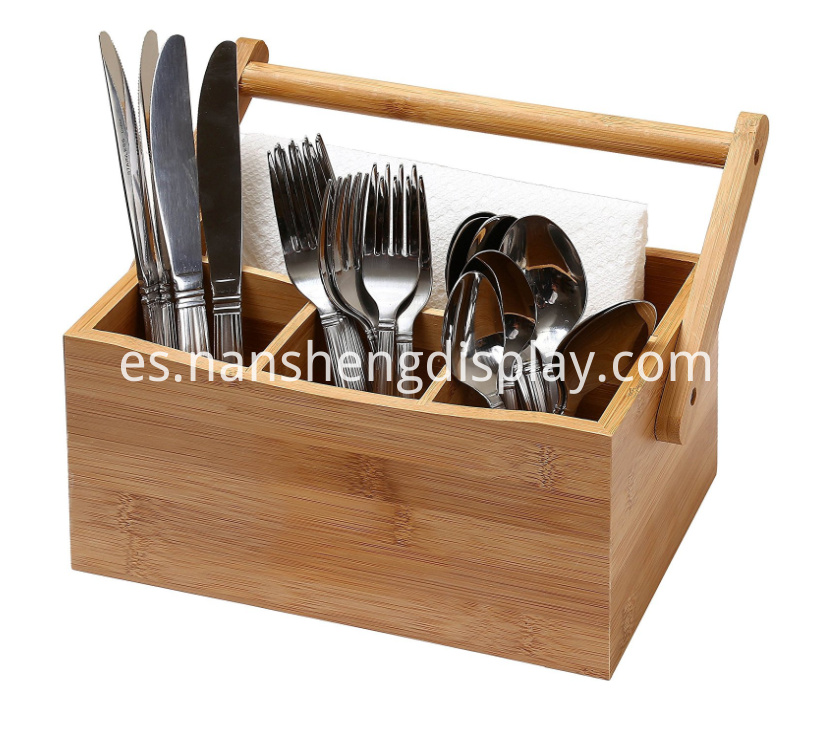Home Kitchen Utensil Flatware Cutlery Caddy Holder