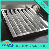 Hot Sale Stainless Steel Baffle Grease Filter on Alibaba China