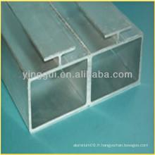 Profilé en alliage d'aluminium 6463