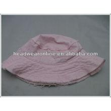 Chapéu personalizado da cubeta / chapéu de cubeta de lavagem