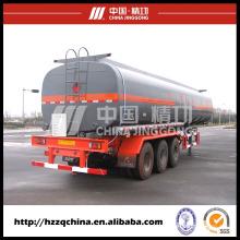 Série de semi-reboque tanque, caminhão de tanque de líquido químico da alta qualidade para venda