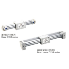 CY3B,CY3R series pneumatic rodless cylinders