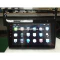 Full touch screen do carro dvd player para Glof7 + com sistema android + 1024 * 600 + TV