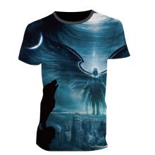 Venda quente da fábrica Sublimada Completa Camiseta