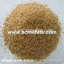 Browness colorido deshidratado ajo granulado