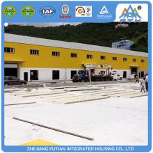 Diferentes colores prefabricados fábrica de acero estructura prefabricada