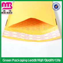 Handmade design self-seal kraft bubble envelope for mailing